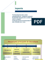 Trombocitopenia prezentatie