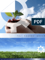 Sustainability Report 2011 - Taj Pharma India