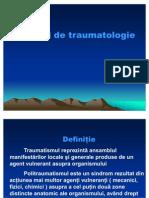 Principii de traumatologie