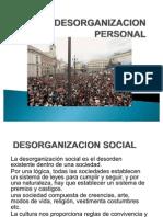Desorganizacion Social