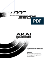 MPC2500Users Manual