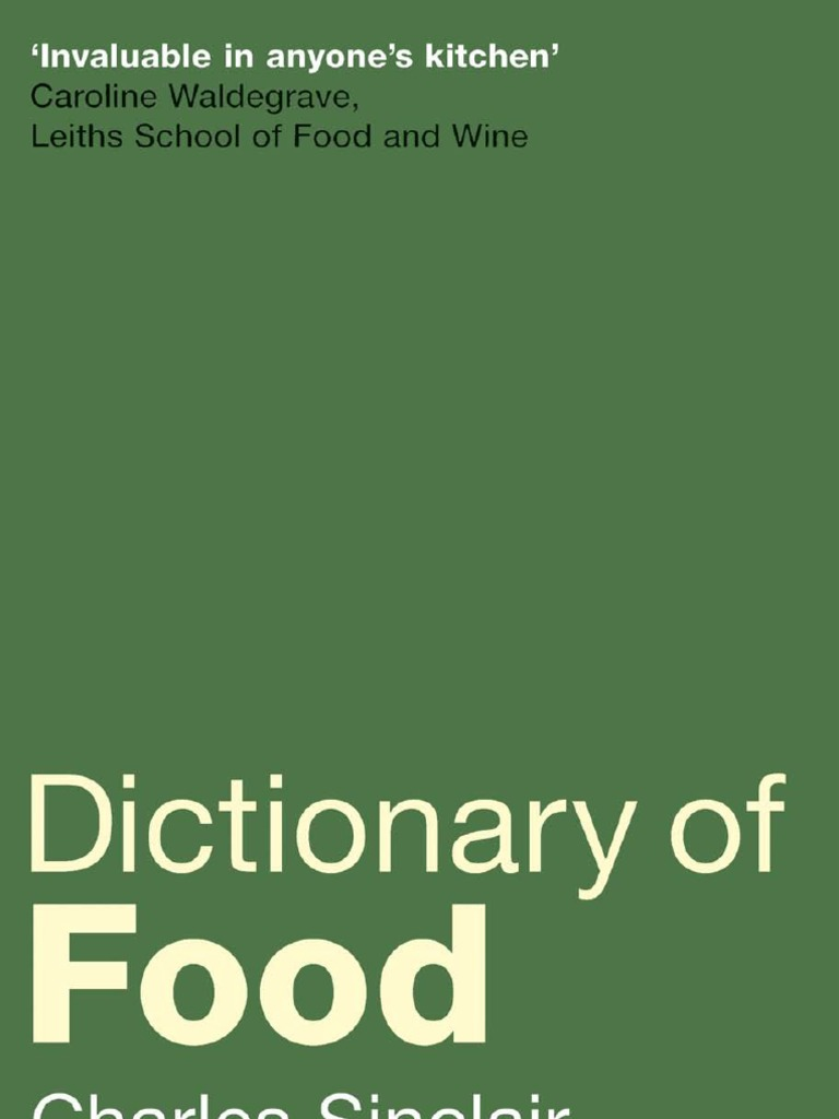 9c5045be69  Dictionary of Food