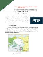 Conflicte Inghetate in Zonele Oceanice Si Maritime Europene (Frozen conflicts in the European Maritime And Oceanic Areas)