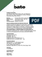 07. Tema Central. La crisis como método en René Zavaleta Mercado. Luis H. Antezana J.
