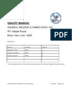 GWF Quality Manual