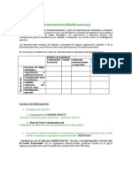 Plan de Acción para el 2012 - Alianza Regional