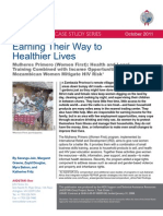 AIDSTAR-One Case Study - Earning Their Way to Healthier Lives