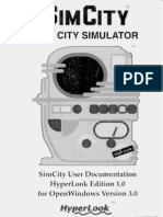 HyperLook SimCity Manual