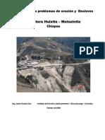 037-Deslizamientos en La via Huixtla-Motozintla en Mexico