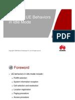 01 Owj200101 Wcdma Ue Behaviors in Idle Mode Issue1.1