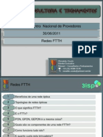3o Encontro Nacional de Provedores - Redes Ópticas FTTH