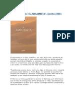 El Alquimista - Pablo Coelho