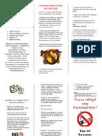 Quit Smoking Pamphlet