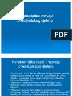 P Metodika Karakteristike Razvoja Predskolskog Djeteta