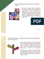 Unidad 1. Fundamentos para el estudio de la estructura socioeconómica de México