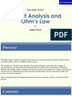 Circuit Analisys and Ohms Law