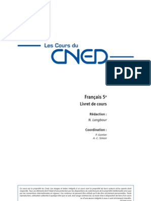 Francais 5eme Integral Sujet Grammaire Livres