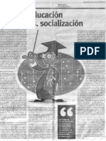 Educación Vs. Socialización