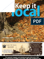 Keep It Local Magazine November 08