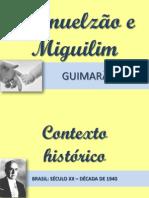 LEITURAS OBRIGATÓRIAS UFRGS 2012 - MANUELZÃO E MIGUILIM