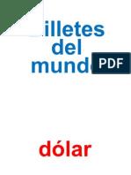 Billetes Del Mundo m