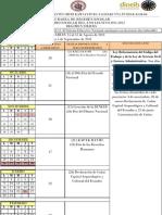 calendario régimen sierra 2011-2012