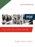 Bain Social Impact Report 2009-2010