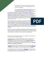 CONCEPTO DE PEDAGOGIA