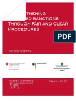 Strengthening Targeted Sanctions