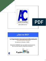 ISO 9001 Presentación 1
