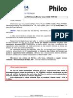 Dicas de Defeitos Home Fama2 Usb e Philco Ph 550