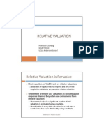 3 Relative Valuation