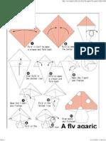 Honguito de Origami