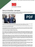 (Sarkozy et la françafrique = le défi togolais - AgoraVox le média citoyen)