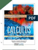 Mccallum - Multi Variable Calculus 5E