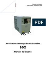 Manual or Baterias Bdx