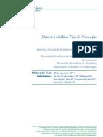Diabetes Mellitus Tipo 2 Prevencao
