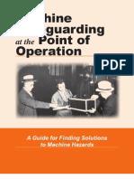 OSHA Machinery Safety Guideline