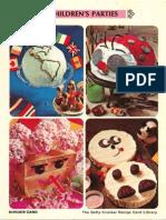 06 Children's Parties - Betty Crocker Recipe Card Library
