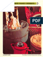 13 Favorite Family Desserts - Betty Crocker Recipe Card Library