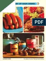 18 Hurry Up Main Dishes - Betty Crocker Recipe Card Library