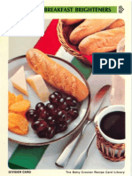 20 Family Breakfast Brighteners - Betty Crocker Recipe Card Library