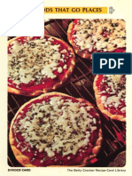22 Foods That Go Places - Betty Crocker Recipe Card Library