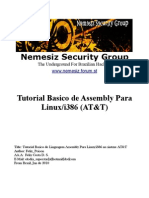 Tutorial Basico de Assembly