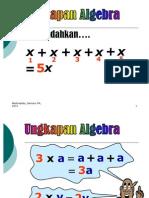 Algebra 2 -Pindaan