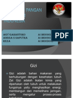 Kebijakan Pangan Dan Gizi Di Indonesia