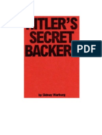 Warburg - Hitlers Secret Backers - The Financial Sources of National Socialism 1933