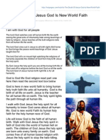 Hubpages.com-As the Doubt of Jesus God is New World Faith