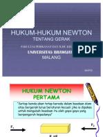Hukum Hukum Newton