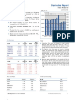 Derivatives Report 5th January 2012